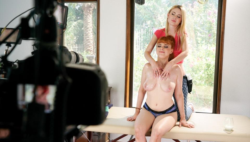The Breast Scrub: BTS Featurette - All Girl Massage