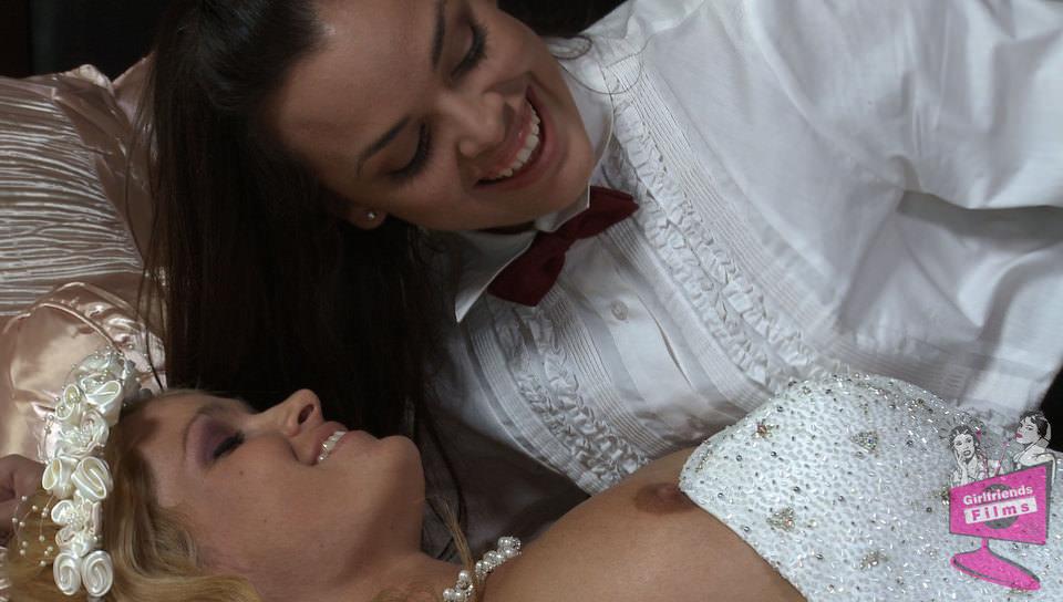 Lesbian Bridal Stories #04, Scene #01 - Girlfriends Films