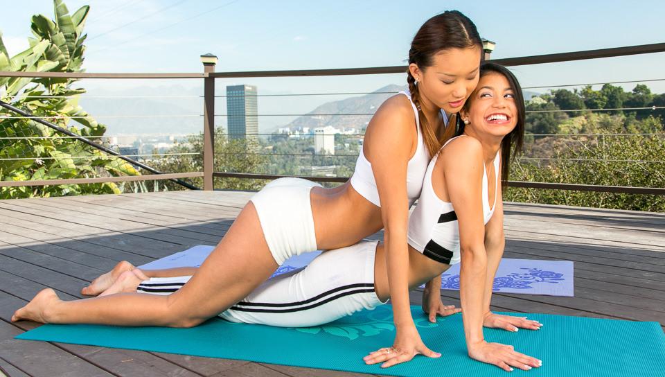 My First Yoga Class, Scene #01 - WebYoung