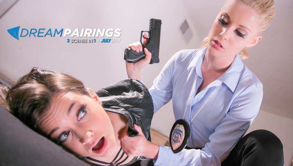 Dream Pairings: The Stalker - Girlsway