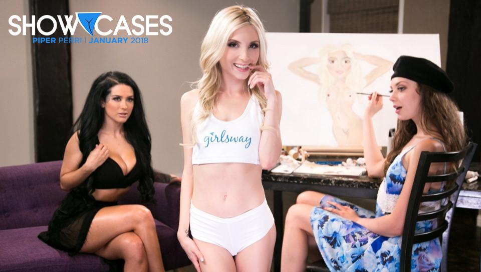 Showcases: Piper Perri - 2 Scenes in 1 - Girlsway