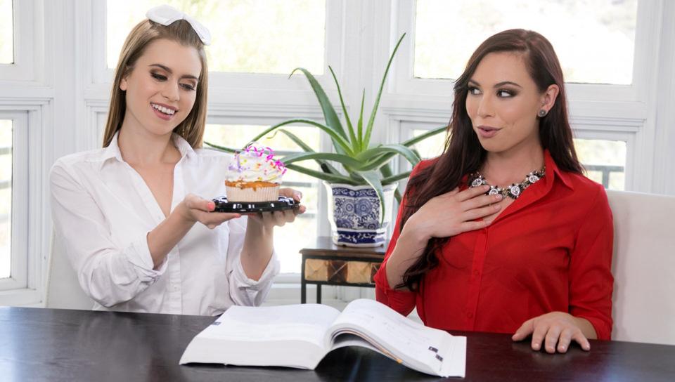 Too Hot for Teacher: Birthday Surprise - Girlsway