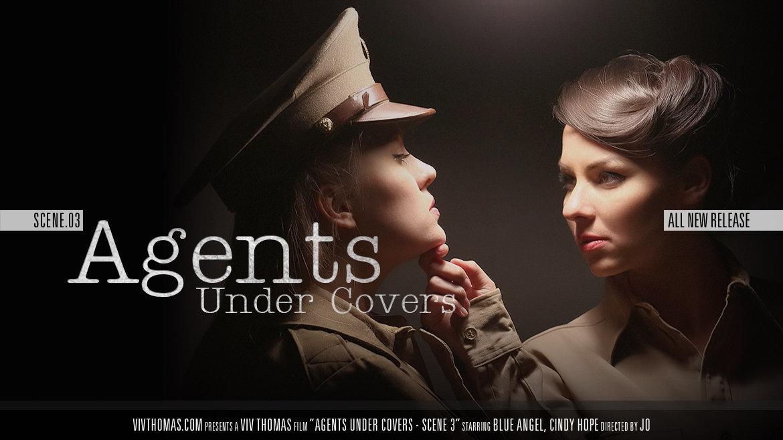 Agents Under Covers Scene 3 - Viv Thomas