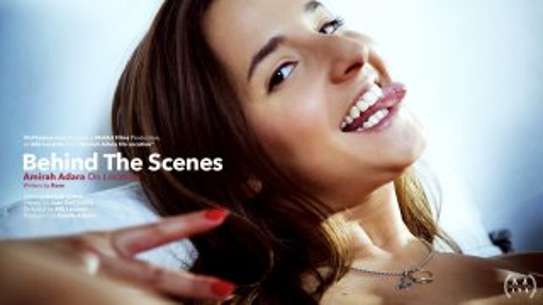 Behind The Scenes: Amirah Adara on Location - Viv Thomas