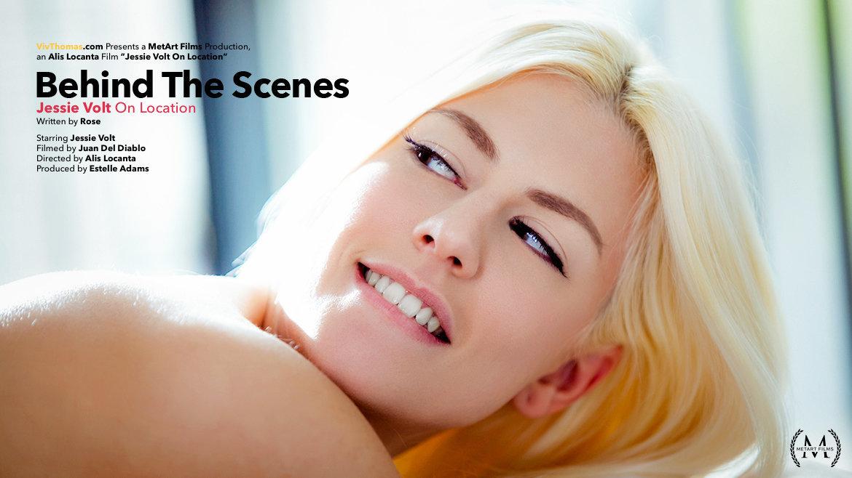 Behind The Scenes: Jessie Volt On Location - Viv Thomas
