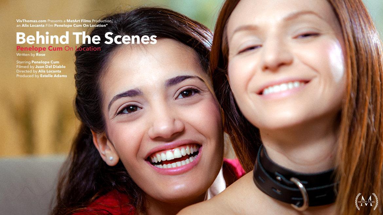 Behind The Scenes: Penelope Cum on Location - Viv Thomas