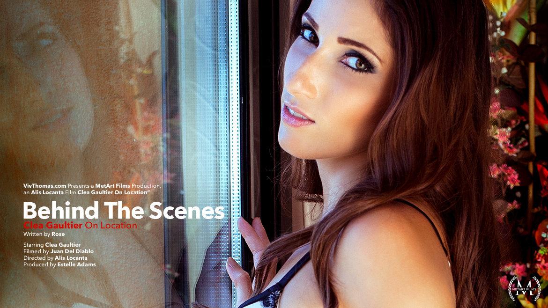 Behind The Scenes: Clea Gaultier On Location - Viv Thomas