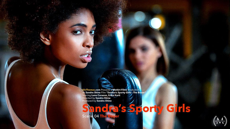 Sandra's Sporty Girls Episode 4 - The Boxer - Viv Thomas