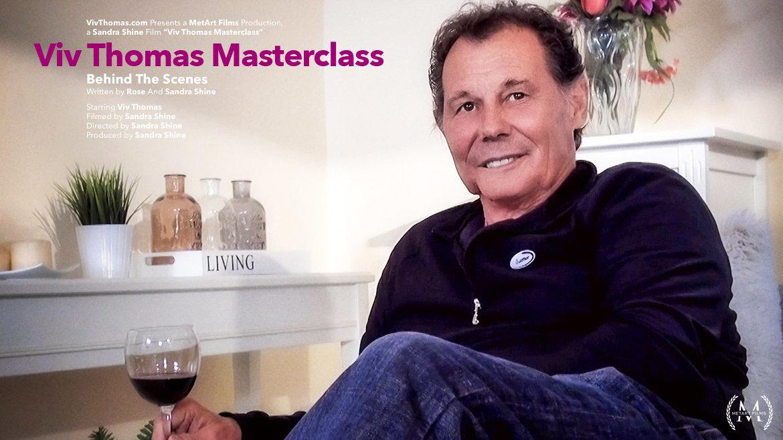 Viv Thomas Masterclass: Behind The Scenes - Viv Thomas