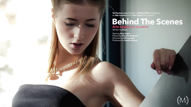Behind The Scenes: Aria Logan On Location - Viv Thomas