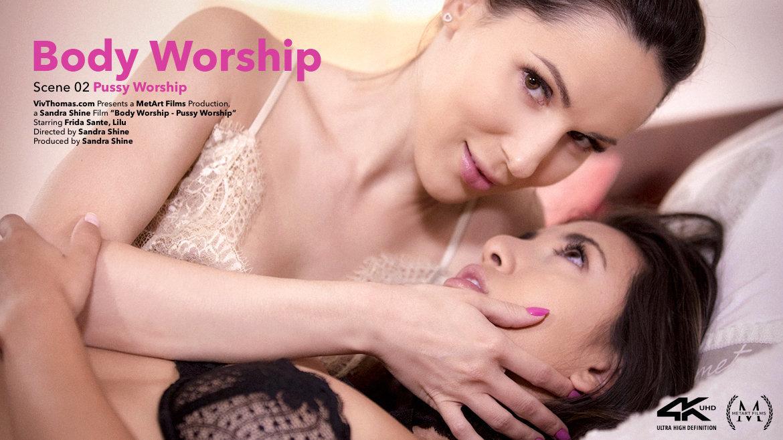 Body Worship Episode 2 - Pussy Worship - Viv Thomas