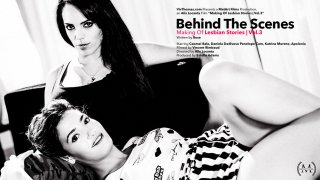 Behind The Scenes: Making Of Lesbian Stories Vol 3 - Viv Thomas