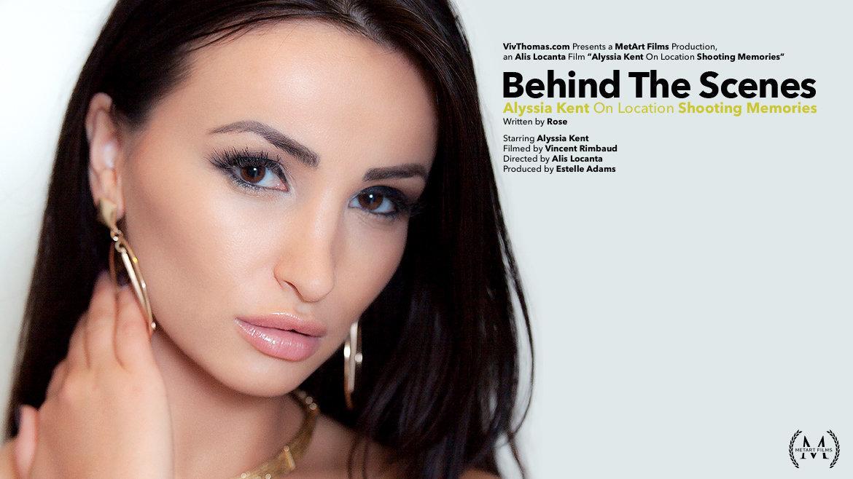 Behind The Scenes: Alyssia Kent Shooting Memories - Viv Thomas