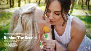 Behind The Scenes: Cristal Caitlin And Lilu Moon On Location - Viv Thomas