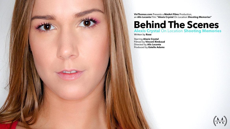 Behind The Scenes: Alexis Crystal Shooting Memories - Viv Thomas