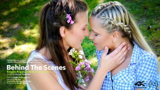 Behind The Scenes: Emylia Argan and Lola A On Location - Viv Thomas