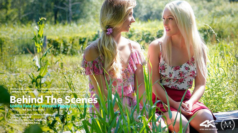 Behind The Scenes: Lovita Fate And Victoria Puppy On Location - Viv Thomas