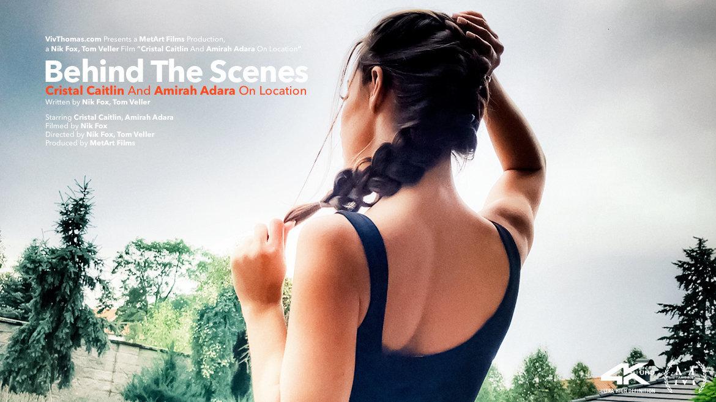 Behind The Scenes: Cristal Caitlin And Amirah Adara On Location - Viv Thomas