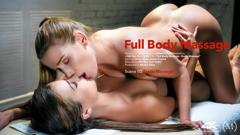 Full Body Massage Episode 2 - Erotic Massage - Viv Thomas