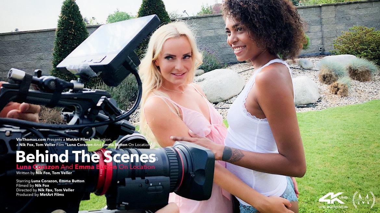 Behind The Scenes: Luna Corazon and Emma Button On Location - Viv Thomas