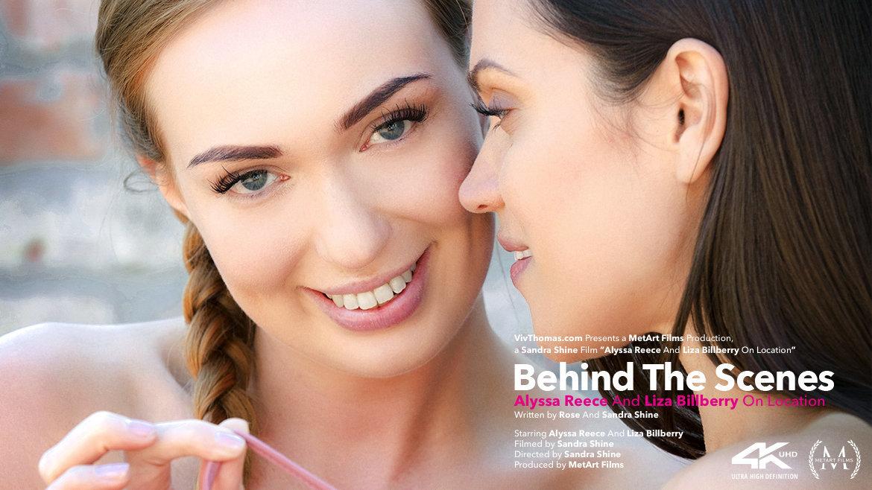 Behind The Scenes: Alyssa Reece And Liza Billberry On Location - Viv Thomas
