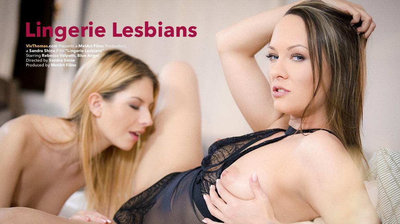 Lingerie Lesbians - Viv Thomas