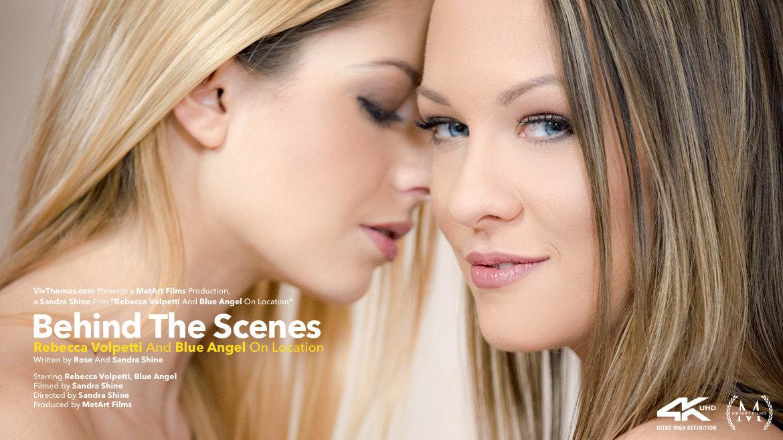 Behind The Scenes: Rebecca Volpetti & Blue Angel On Location - Viv Thomas