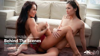 Behind The Scenes: Lexi Dona & Cindy Shine On Location - Viv Thomas