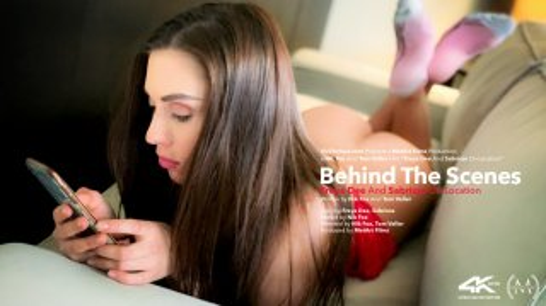 Behind The Scenes: Sabrisse and Freya Dee On Location - Viv Thomas