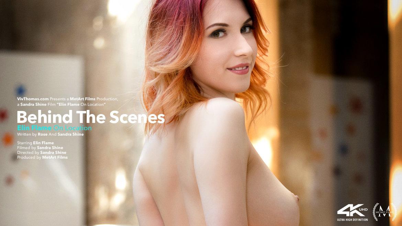 Behind The Scenes: Elin Flame On Location - Viv Thomas