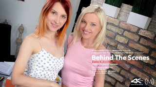 Behind The Scenes: Elin Flame and Zazie S On Location - Viv Thomas