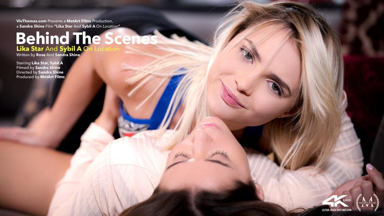 Behind The Scenes: Lika Star & Sybil A On Location - Viv Thomas
