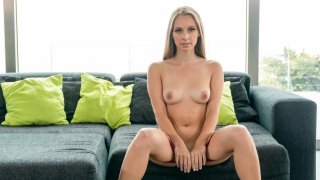 Gorgeous girl in hot solo action - A Girl Knows