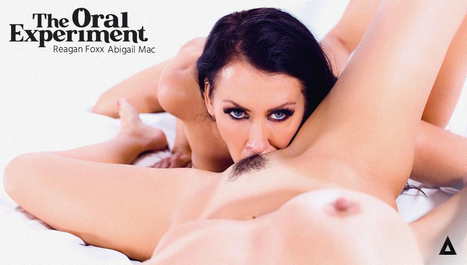 The Oral Experiment - Reagan Foxx & Abigail Mac - Girlsway