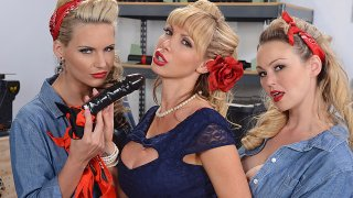 War Wives get Wet - Hot And Mean