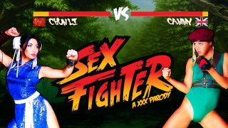 Sex Fighter: Chun Li vs. Cammy (XXX Parody) - Hot And Mean