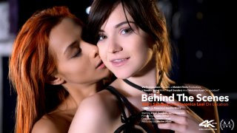Behind The Scenes: Hayli Sanders and Veronica Leal On Location - Viv Thomas