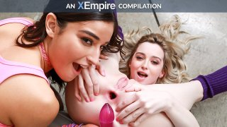 Anal Gapes Compilation, Scene #01 - LesbianX
