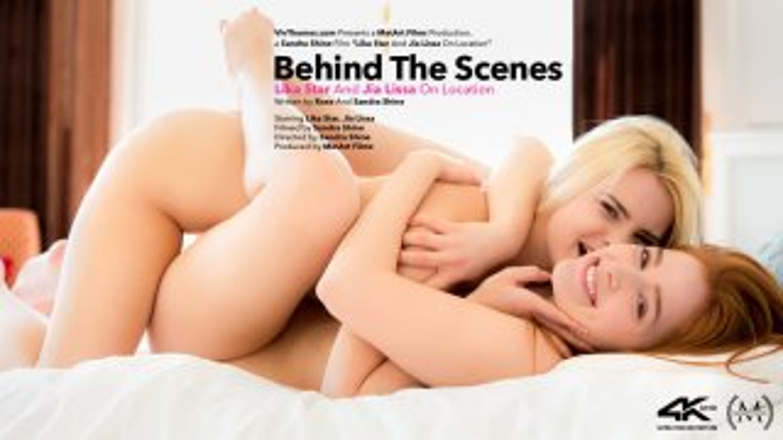 Behind The Scenes: Lika Star & Jia Lissa On Location - Viv Thomas