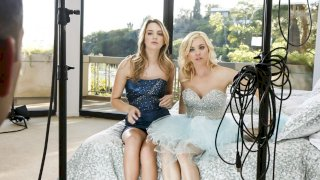 BTS-Unexpected Prom Date - Girlsway