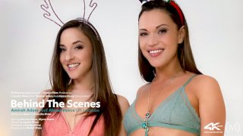 Behind The Scenes: Alyssa Reece And Amirah Adara On Location - Viv Thomas